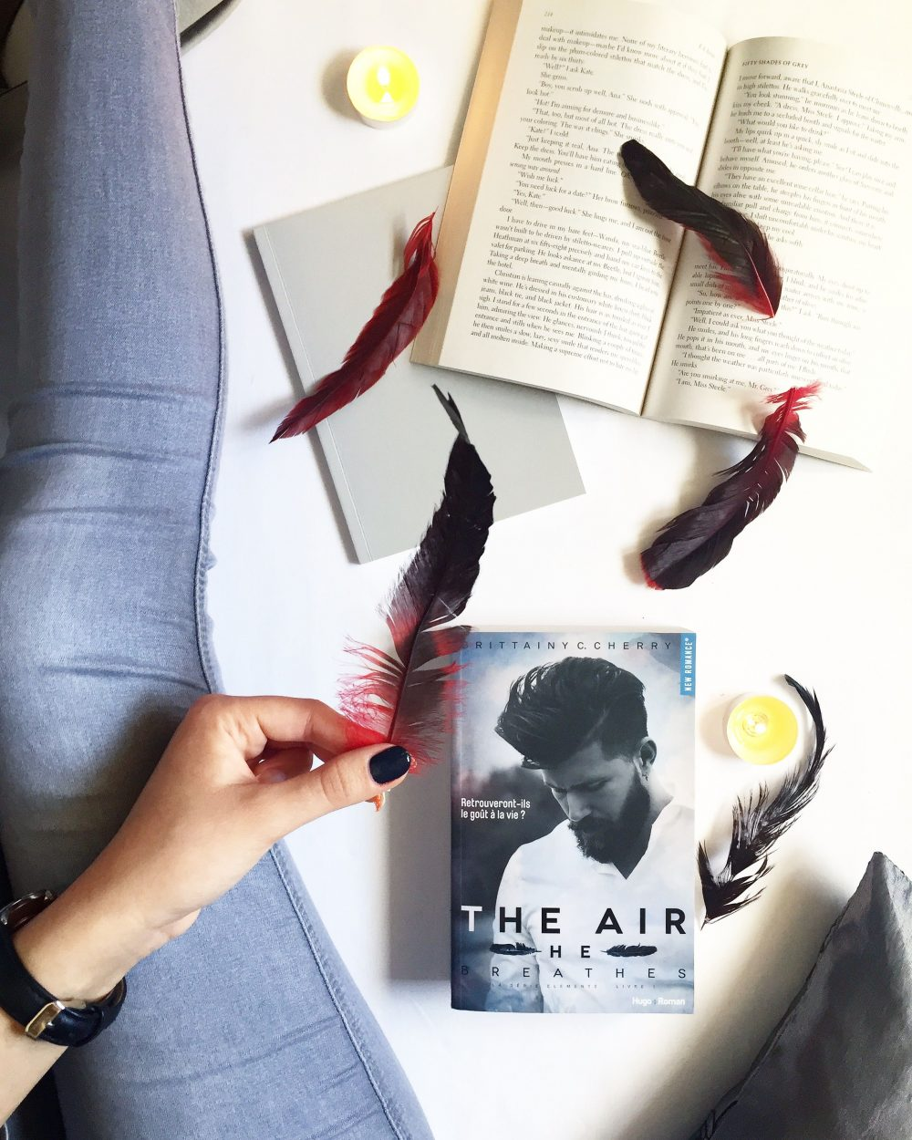 The Air - He Breathes Série Elements de Brittainy C. Cherry - Aliastasia - livre