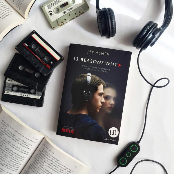 13 Reasons Why livre de Jay Asher - 13 Raisons - Aliastasia